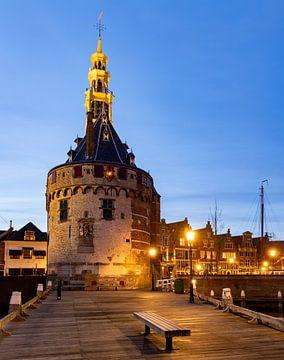 Hoofdtoren in Hoorn, Niederlande von Adelheid Smitt