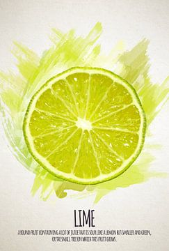 Fruities Lime sur Sharon Harthoorn