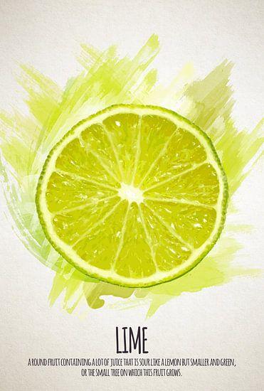 Fruities Limoen van Sharon Harthoorn