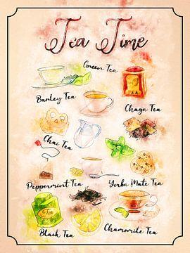 Tijd voor thee van Printed Artings
