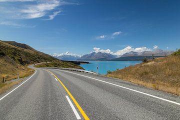 Mt Cook, Nieuw Zeeland van Willem Vernes