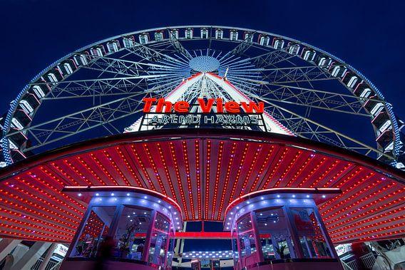 Reuzenread The View in Rotterdam van Mark De Rooij