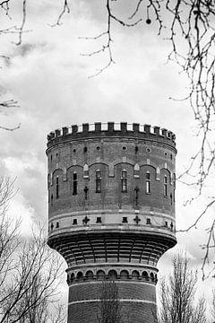 Architectuur in Utrecht: De Watertoren aan de Lauwerhof in Utrecht (I) von De Utrechtse Grachten