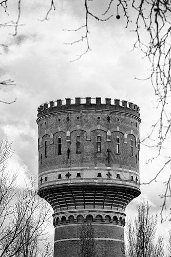 Architectuur in Utrecht: De Watertoren aan de Lauwerhof in Utrecht (I)