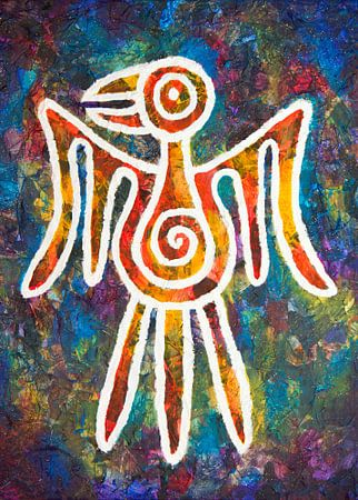 Maya adelaar van Lida Bruinen