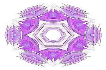 Viola desegna floro