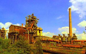 Alte Industrieanlage van