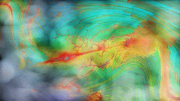 Abstract dynamiiek van Maurice Dawson