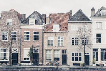 Scène de rue de la vieille ville de 's-Hertogenbosch