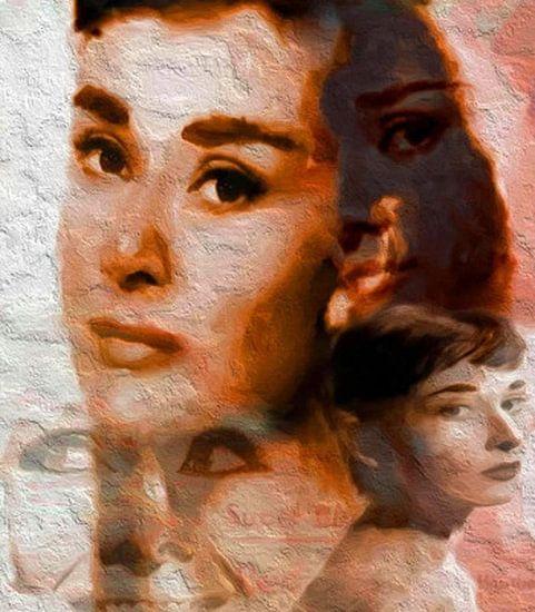 Audrey Dreamscape Audrey Hepburn Audrey Hepburn Pop Art