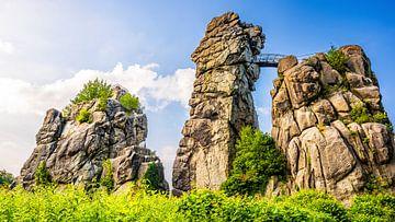 Externe stenen van Günter Albers