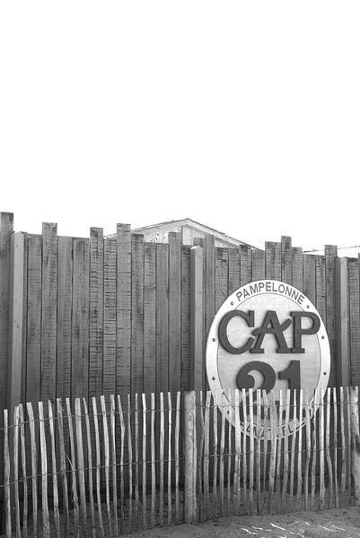 Cap 21 Strand van Pampelonne van Tom Vandenhende