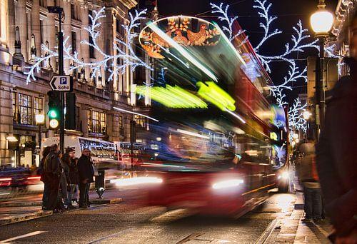 Christmas in London van Jan Kranendonk