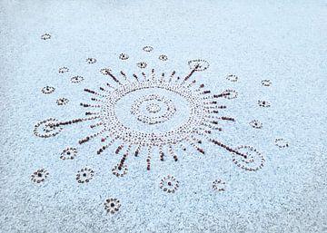 Solarsystem bedenkt met sneeuw