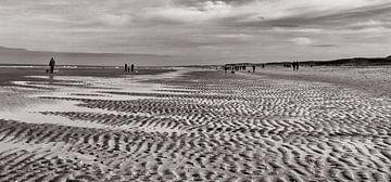 Patronen in het zand van Bob Bleeker