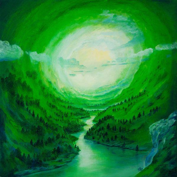 Flusspfad van Silvian Sternhagel