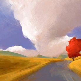 Een regen van zonnestralen van Thomas Dijkstra