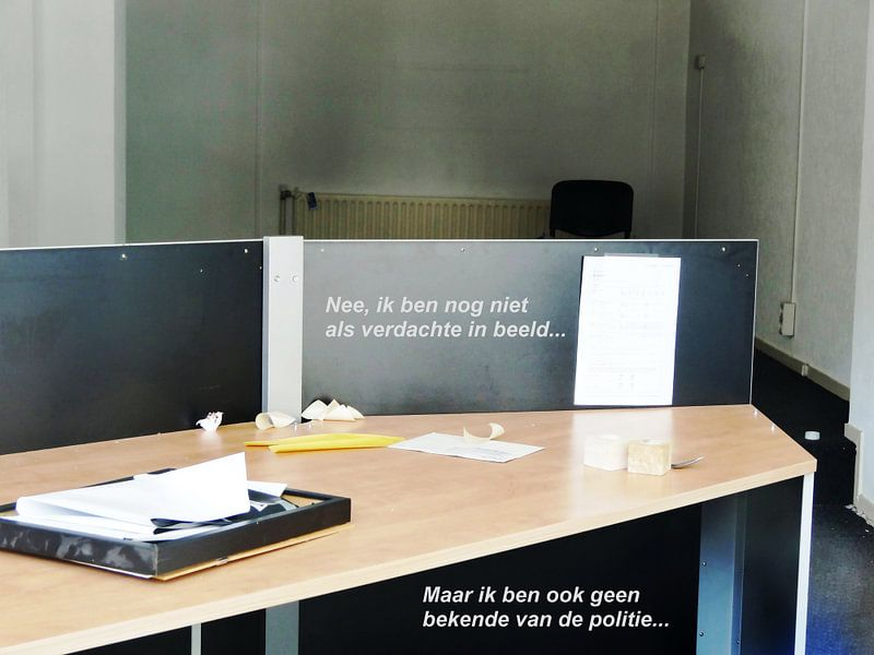 Small Talk: Als Verdachte in Beeld! van MoArt (Maurice Heuts)