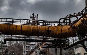 stillgelegte Fabrik im Ruhrgebiet von bert erven