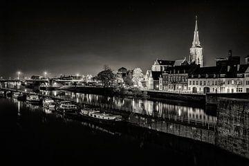 Maastricht Wyck bij Nacht van Rob Boon