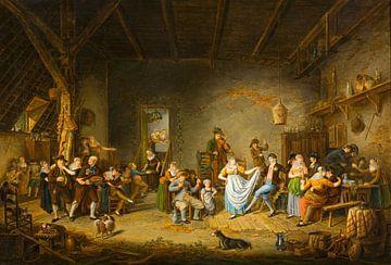 Hochzeit in Nordholland, Johannes Petrus van Horstok