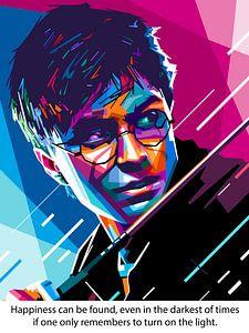 Pop Art Harry Potter van
