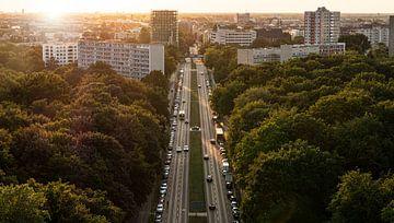 Blick von der Siegessäule, Berlin, Deutschland von Ruurd Dankloff