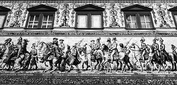 De Fürstenzug in zwart-wit van Henk Meijer Photography