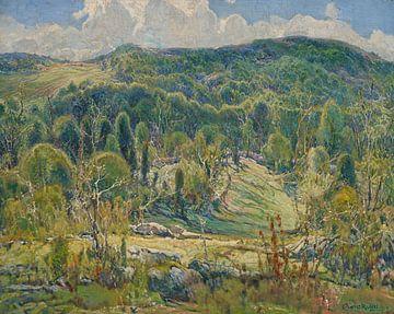 Charles P. Reiffel (Amerikaner, 1862-1942)~Mitte des Sommers