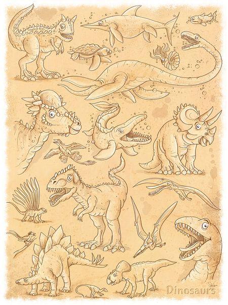 Dinosaurier von Stefan Lohr