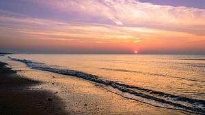Kalme zonsondergang