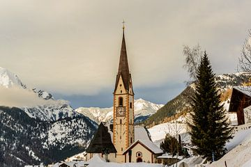 Winter in Oostenrijk van Bert Heuvels
