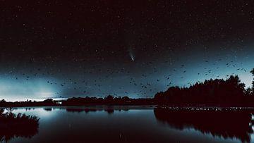 Komeet Neowise van Göran Dekker