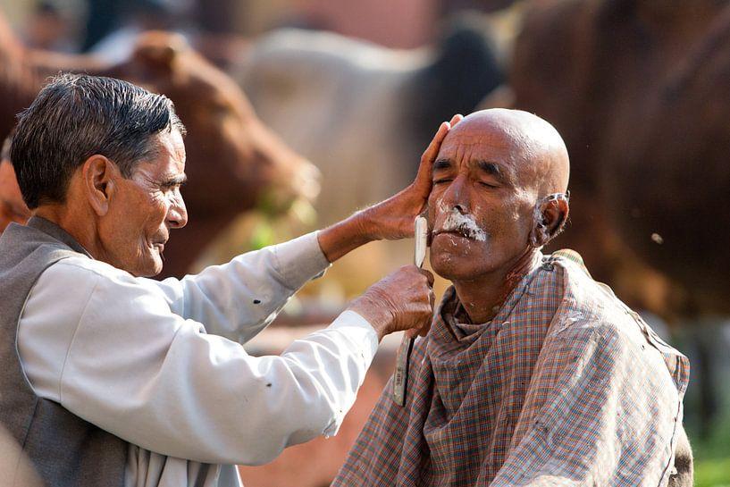 scheren in India van Paul Piebinga