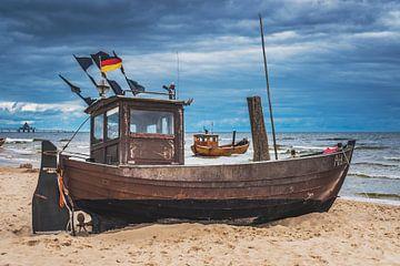 fishing boats van Gunter Kirsch