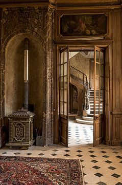 Verlaten kasteel van Maarten Deckers