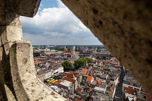Panoramisch uitzicht vanaf de Grote Kerk te Breda van I Love Breda