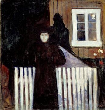 Edvard Munch.Mondschein