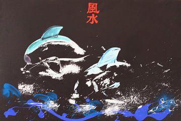 DICX Feng Shui Dolfijnen van Dick Evers