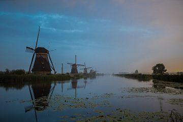 Kinderdijk in holland sur