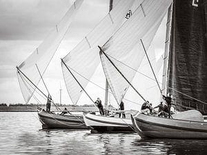 Skûtsje voor de wind von ThomasVaer Tom Coehoorn