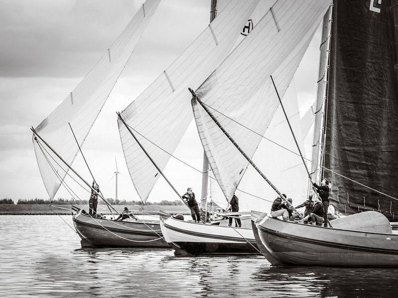 Skûtsje voor de wind van ThomasVaer Tom Coehoorn