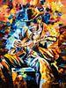 John Lee Hooker von Angelique van den Berg Miniaturansicht