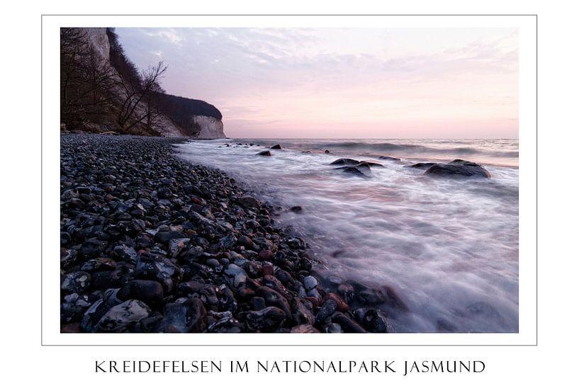 Kreidefelsen im Nationalpark Jasmund von Felix Lachmann