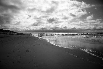 Strand in Zeeland von Wytze Plantenga