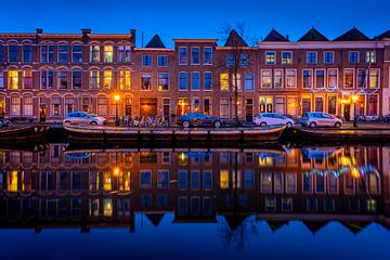 Leiden in Lockdown: Nieuwe Rijn van Carla Matthee