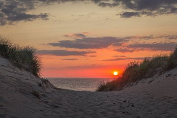 Texeler Sonnenuntergang von Jan Venema