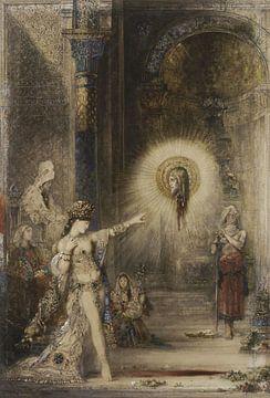 Die Erscheinung, Gustave Moreau