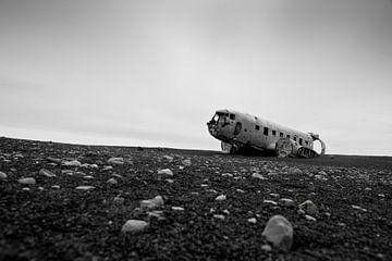 Island, Flugzeugwrack von Ron van der Stappen