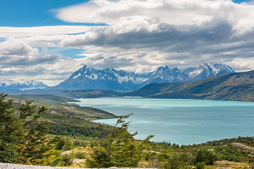 Meer in Patagonie van